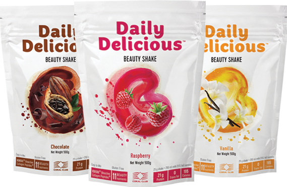 Coral Club Daily Delicious Beauty Shake