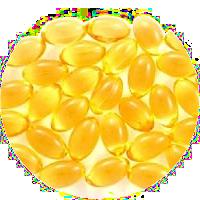 konzentriertes Fisch-, Borretsch-, Lein- und Olivenöl